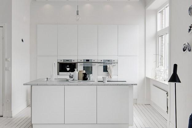 Estilo a través del negro y blanco en la decoración de cocinas ...