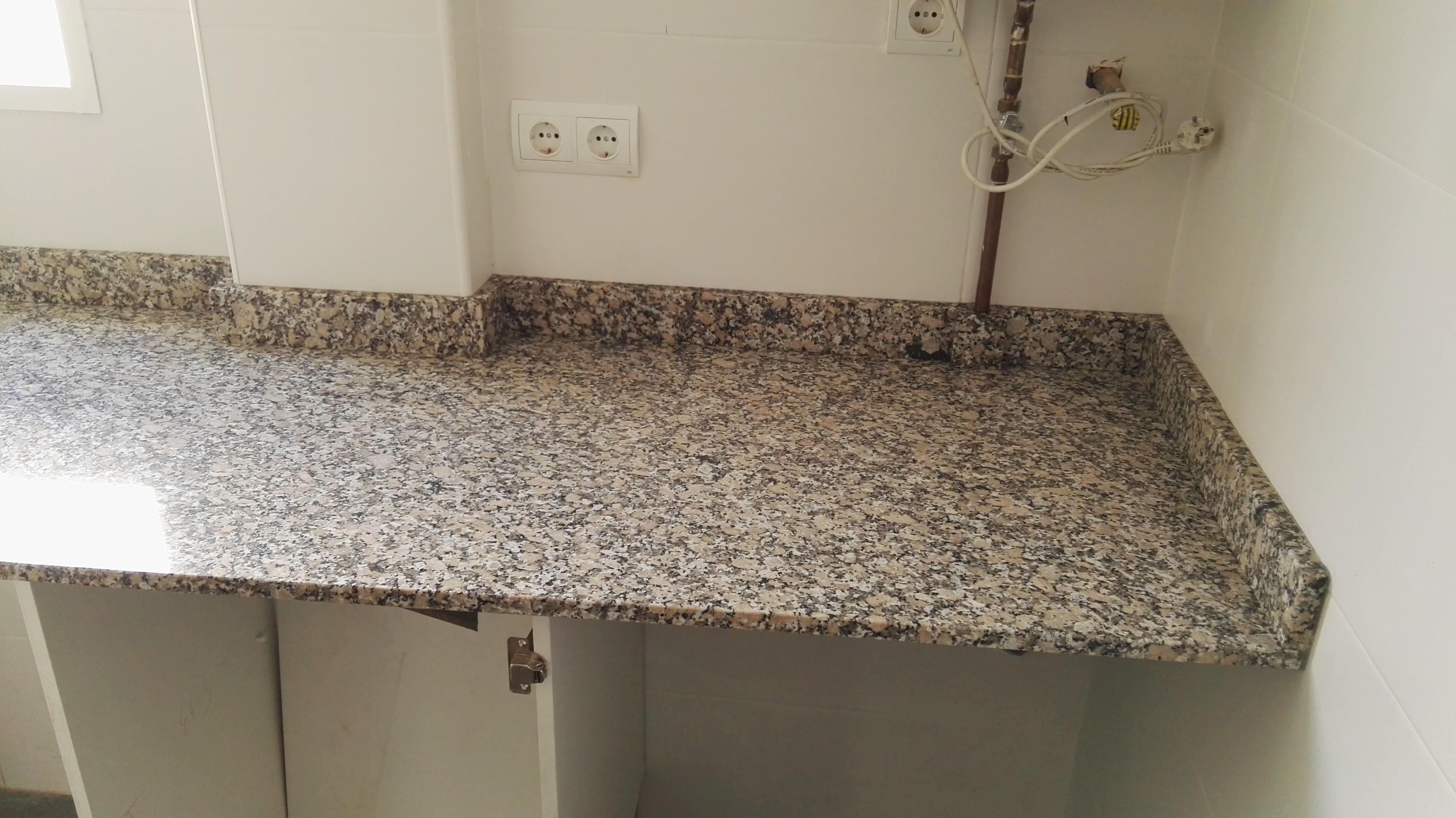 Encimeras de granito nacional best aparicio cocinas for Encimeras de granito nacional